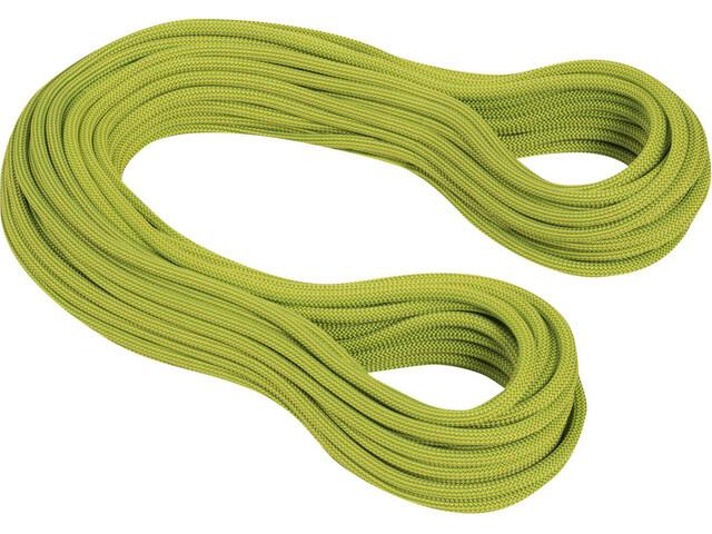 Mammut 9.5 Infinity Dry Corde Câble 80m, pappel-limegreen